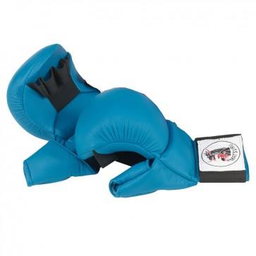 Matsuru Karate Fäuste Wettbewerbmodel mit Daumen Blau
