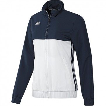 adidas T16 Team Jacke Frauen Blau/Weiß