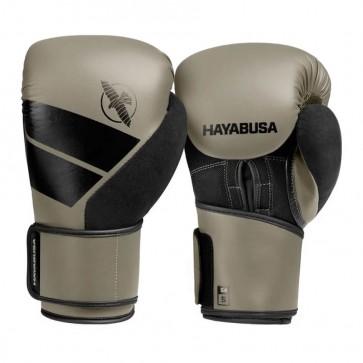 Hayabusa S4 (kick)bokshandschoenen Clay/Zwart