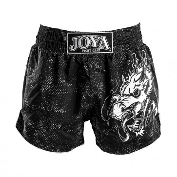 Joya Kids Kickboksbroek Dragon Wit