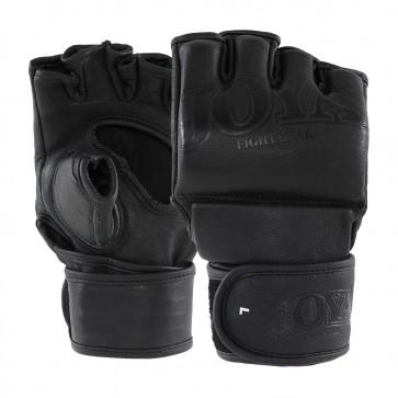 Joya MMA Handschoenen Fight Fast Leder Zwart