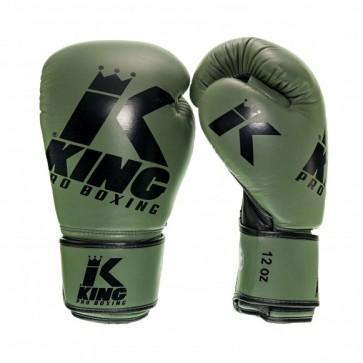 King (kick)bokshandschoenen Platinum 3 Groen/Zwart