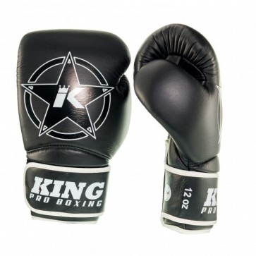 King (kick)bokshandschoenen Vintage 2 Zwart
