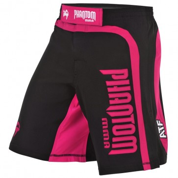 Phantom MMA Short Shadow Schwarz/Pink xxx-Klein (24)