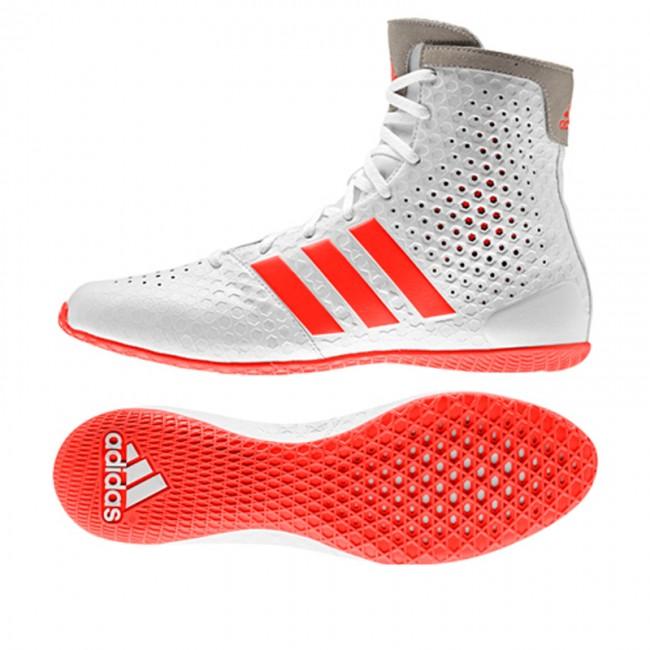 Adidas 16 Weißrot Boxschuhe K oLegundd 1 YgI76mbfyv