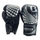 Booster BFG (Kick)Boxhandschuhe Würfel Schwarz / Silber