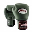 Twins (Kick) Boxhandschuhe BGVL3 Militairy