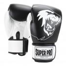 Super Pro Combat Gear Undisputed Boxsackhandschuhe Leder black/white
