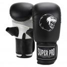Super Pro Combat Gear Victor Boxsackhandschuhe black/white