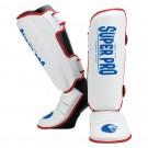 Super Pro Combat Gear Schienbeinschützer Protector red/white/blue