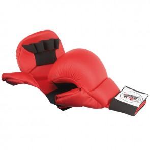 Matsuru Karate Fäuste Wettbewerbmodel mit Daumen Rot