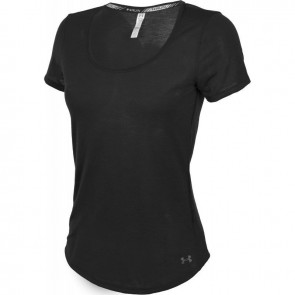 Under Armour Damen Shirt Threadborne Streaker Black