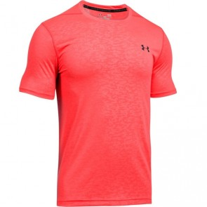 Under Armour Heatgear T-Shirt Threadborne Rot Extra Large