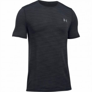 Under Armour Herren T-Shirt Threadborne Seamless Schwarz
