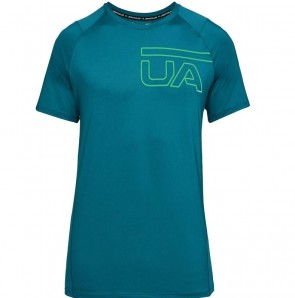 Under Armour Herren Shirt MK-1 Graphic Grün