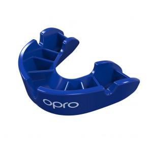 OPRO Gebitsbeschermer Self-Fit Bronze Blauw