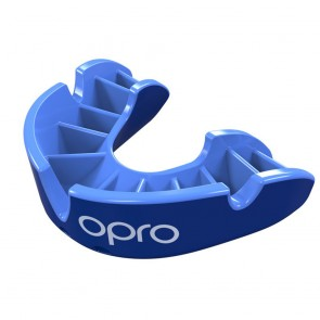 OPRO Gebitsbeschermer Self-Fit Silver Blauw/Blauw