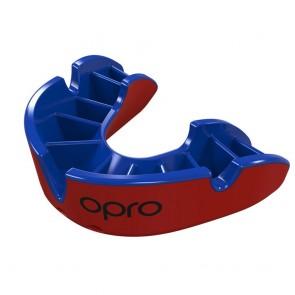 OPRO Gebitsbeschermer Self-Fit Silver Rood/Blauw