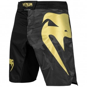 Venum MMA Fightshorts Light 3.0 Black/ Camo/ Gold
