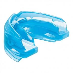Shock Doctor Doppelter Mundschutz für Zahnspangen Blau Junior