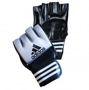 adidas Grappling Training Handschuhe Schwarz/Blau Extra L