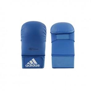 adidas WKF Karate-Handschuh ohne Daumen Blau