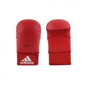 adidas WKF Karate-Handschuh ohne Daumen Rot