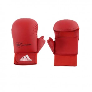 adidas WKF Karate-Handschuh mit Daumen Rot