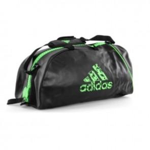 adidas Super Sportsbag Schwarz / Grün