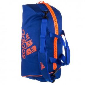 adidas Super Sportsbag 2-in-1 Blau / Orange