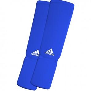 adidas elastischer Schienbein- / Spannschoner Blau