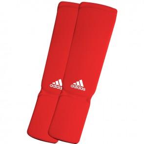 adidas elastischer Schienbein- / Spannschoner Rot