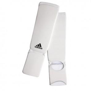 adidas elastischer Schienbein- / Spannschoner Weiß