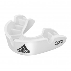 adidas gebitsbeschermer OPRO Gen4 Bronze-Edition Wit Senior