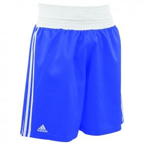 adidas Amateur Boxen leichte Short Blau/Weiß