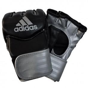 adidas Traditional Grappling Handschuhe Schwarz/Silber
