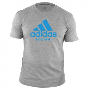 adidas T-Shirt Boxen Community Grau/Blau