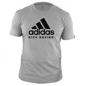 adidas T-Shirt KickBoxen Community Grau/Schwarz