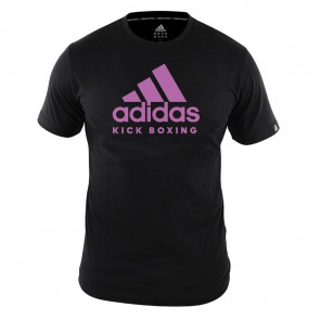 adidas T-Shirt KickBoxen Community Damen Schwarz/Pink