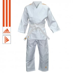 adidas Judopaket Evolution II Weiß/Orange
