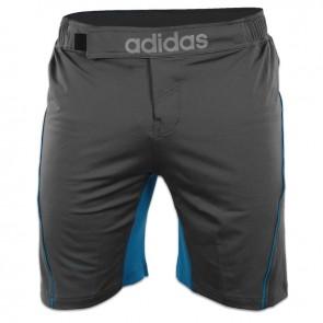 adidas Trainings MMA Shorts Grau / Blau