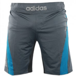 adidas Fluid Technique MMA Shorts Grau / Blau