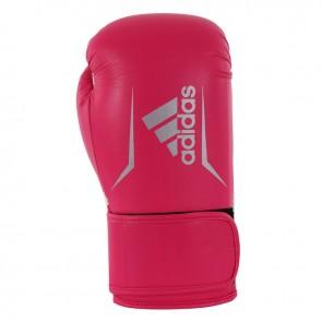 adidas Speed 100 (Kick) Boxhandschuhe Pink / Silber Women's Edition