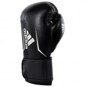 adidas Speed 100 (Kick)Boxhandschuhe Schwarz/Weiß 10oz