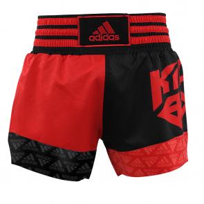 adidas KickBoxshort SKB02 Rot/Schwarz Extra L