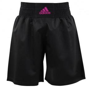 adidas Multi Boxing Short Zwart/Roze