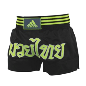 adidas KickBoxshort STH02 Schwarz/Gelb