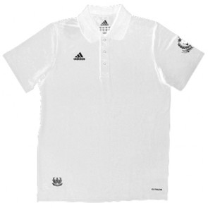 adidas Polo Short Sleeve wit