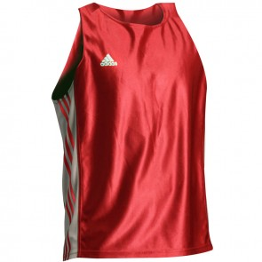 adidas Amateur Boxing Tank Top rot / weiß