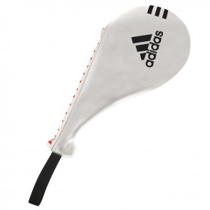 adidas Single Target Mitt Wit Large